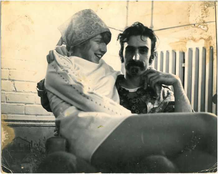 My Mother On Frank Zappa's Lap, 1968