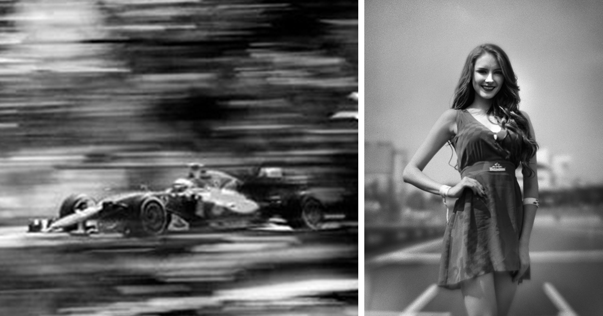 Photographer shoots formula 1 with 104 year old camera and heres the result bored panda
