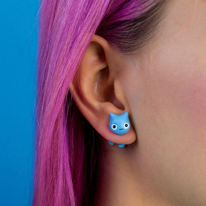 Catbug Earring