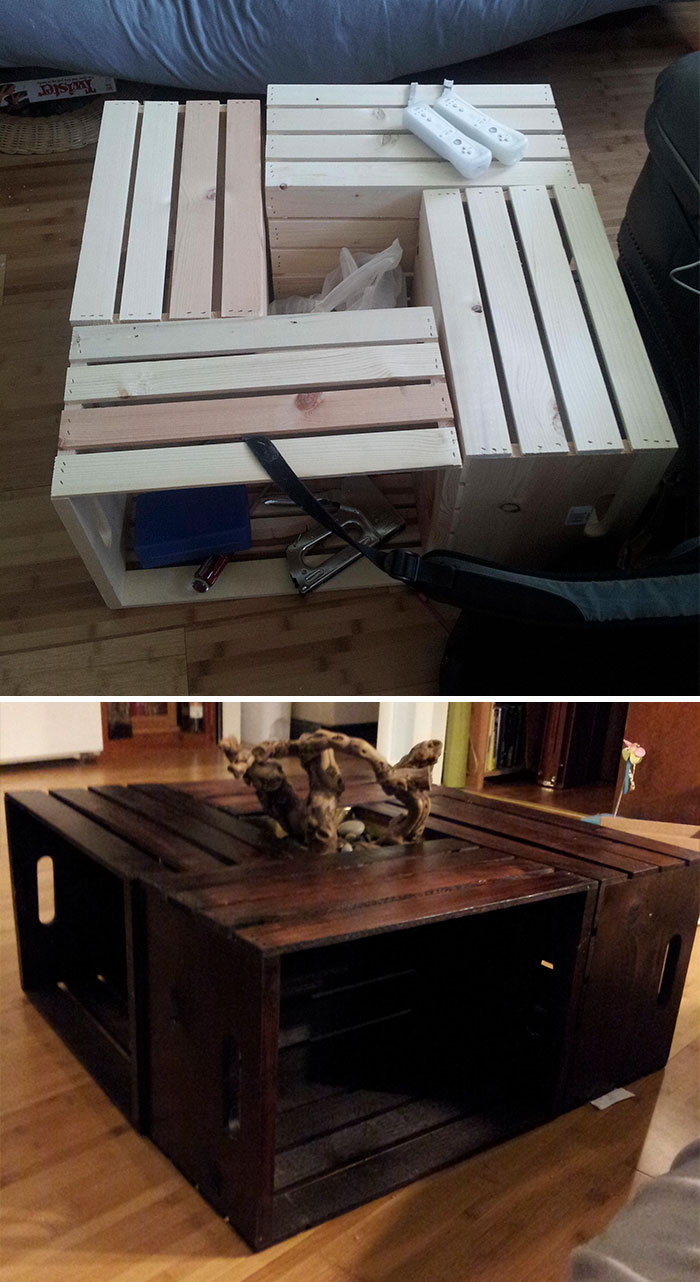 Building A Coffee Table: For DIY Newbs