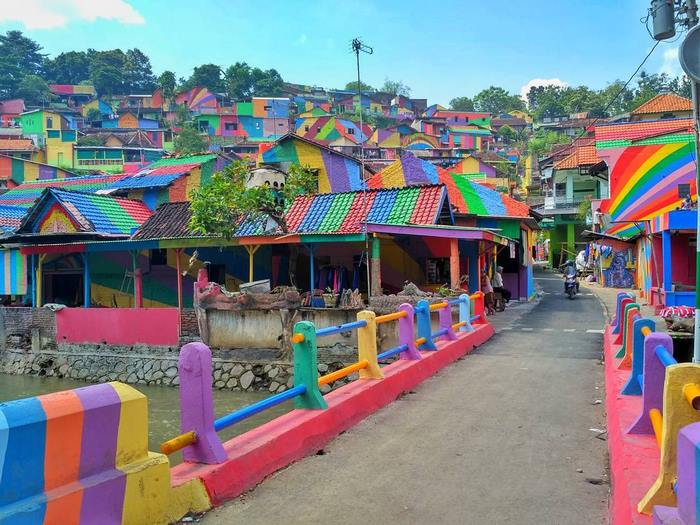 rainbow village indonesian government invests 22 467 to