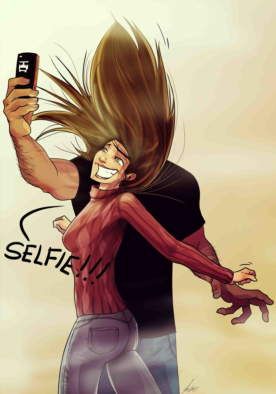 Lets Take A Selfie!