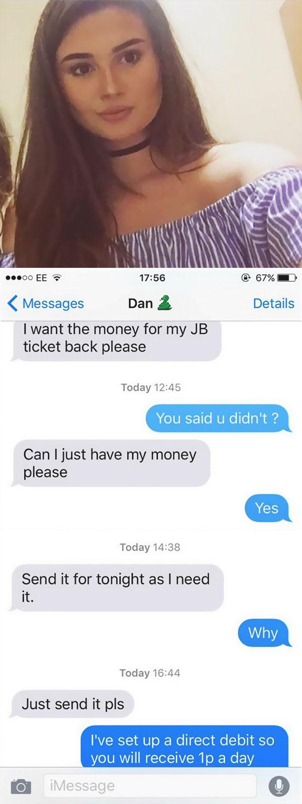 revenge on ex boyfriend who cheated