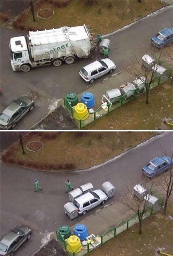 Revenge Of The Garbage Men