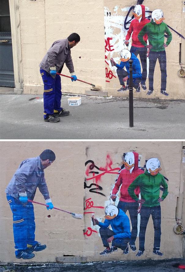 Street Art Revenge