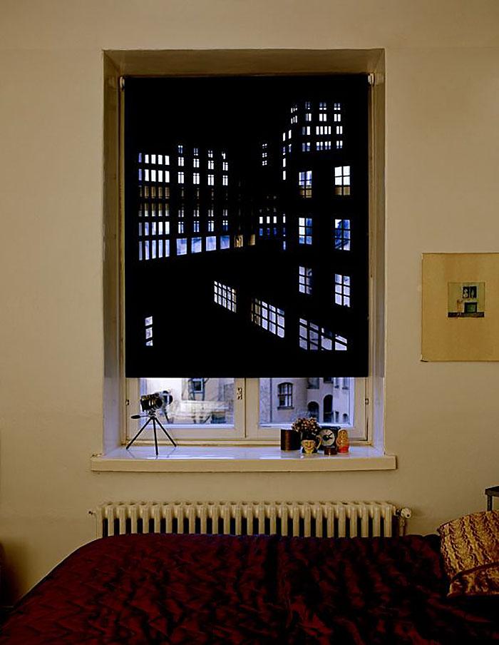 unusual curtains