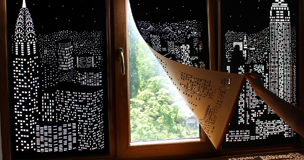 Blackout Curtains That Will Make You Feel Like Re Living In A Above Large City Bored Panda
