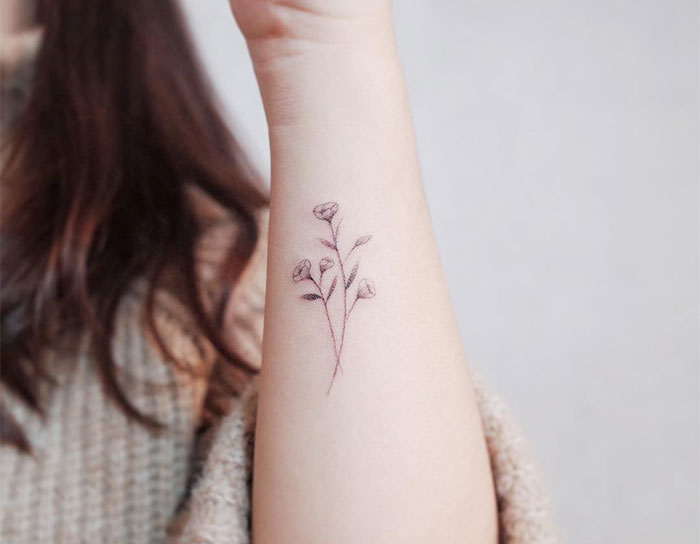 106 Tiny Discreet Tattoos For People Who Love Minimalism By Witty Button