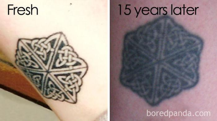Aged Tattoo