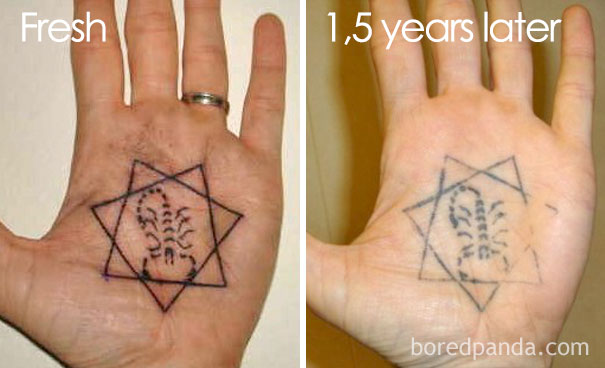 Thinking Of Getting A Tattoo? These 35 Pics Reveal How Tattoos Age ...