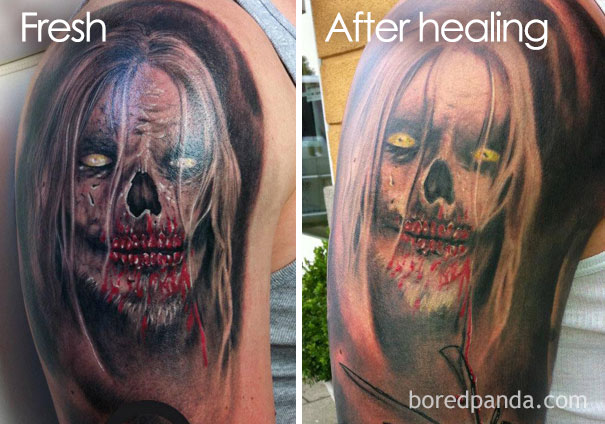 When Is Tattoo Healed: Thinking Of Getting A Tattoo? These 10+ Pics Reveal How