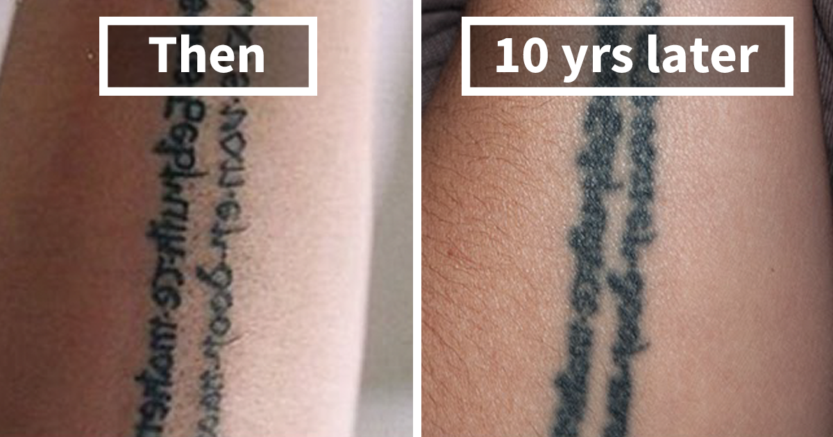 Thinking Of Getting A Tattoo These 10 Pics Reveal How Tattoos Age