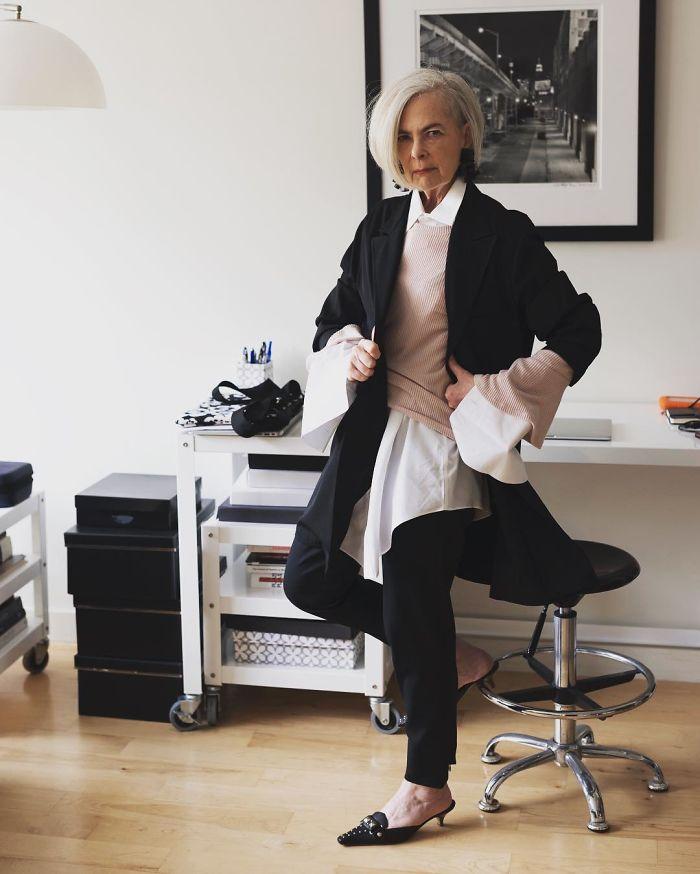 Լրագրողները շփոթել են 63-ամյա կնոջը նորաձևության խորհրդանիշի հետ ու տակնուվրա արել նրա կյանքը (լուսանկարներ)