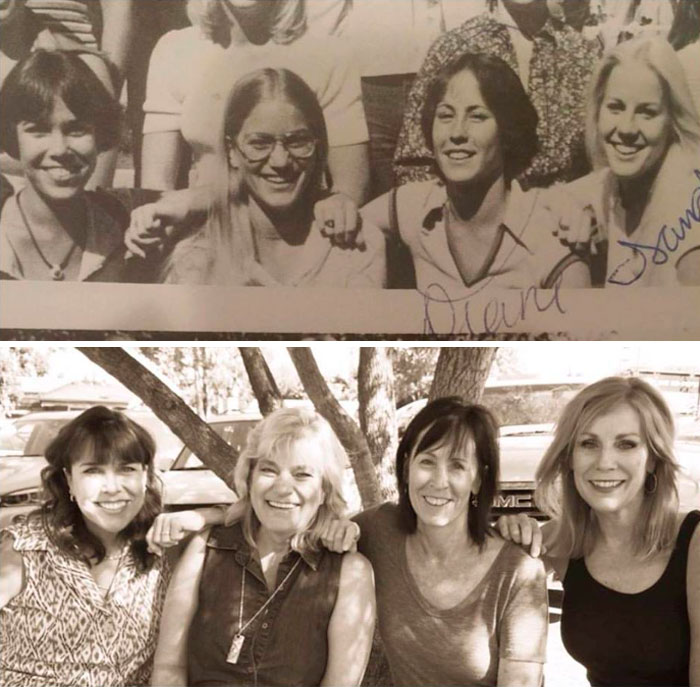 Four Friends, Then And Now, 38 Years Apart (1978 - 2016)