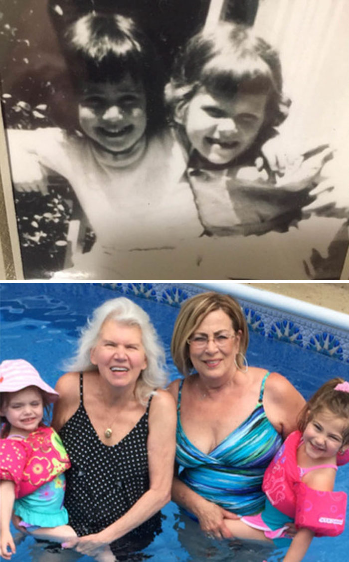 Best Friends For Nearly 70 Years. Today, In Our Seventies, Our Bond Is As Strong Today As It Was When We Were Children