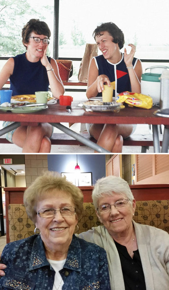 Best Friends For Over 50 Years. We Haven't Lived In The Same City For 40 Years, But We Talk Every Week And See Each Other Several Times A Year. Neither One Of Us Has Sisters, But She Is More Than A Sister To Me