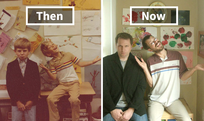 Then & Now: Share Your Pictures Of Everlasting Friendship