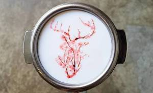 Soy un barista de Corea que crea arte sobre el café
