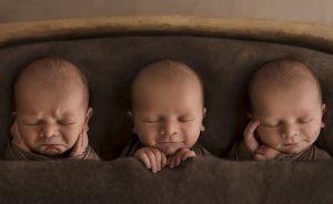 Esta fotógrafa hace fotos a los bebés de forma nunca vista