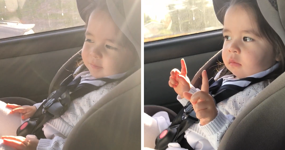 Toddler Goes Viral After Patiently Waiting For The Beat To Drop, And ...