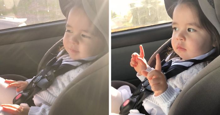 Toddler Goes Viral After Patiently Waiting For The Beat To