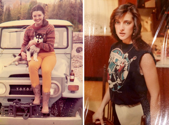 Hey Pandas, Share Vintage Photos Of Your Moms Being Cool!