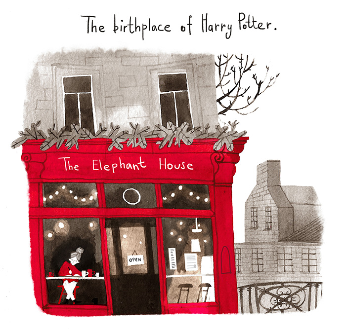 We Illustrated Iconic Literature Locations In UK That Are A Must-Visit For Book Lovers