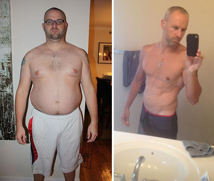 10 Month Transformation