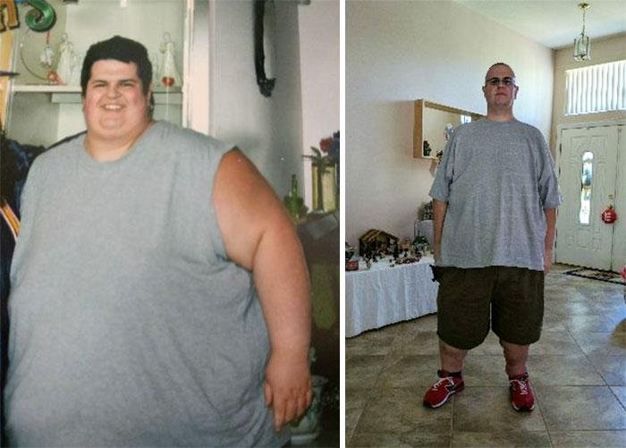 De 312 kilos a 158