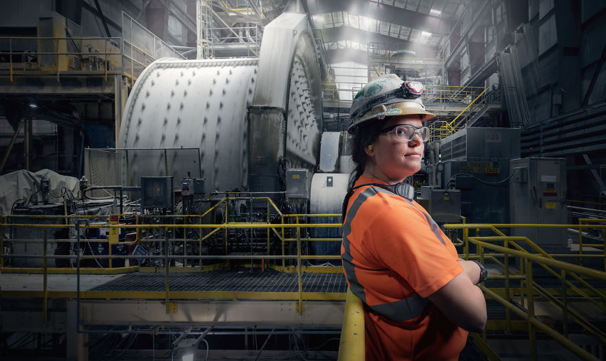 Jordan Ainsworth, Mill Operator At Round Mountain Gold Mine In Round Mountain, Nevada