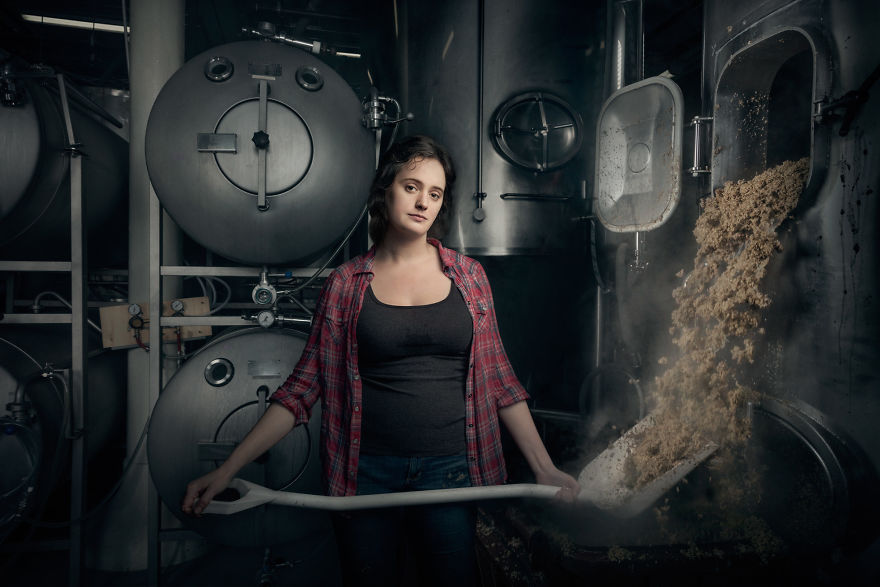 Christina Burris, Brewer And Operations Manager Of St. Benjamin's Brewing In Philadelphia, Pennsylvania