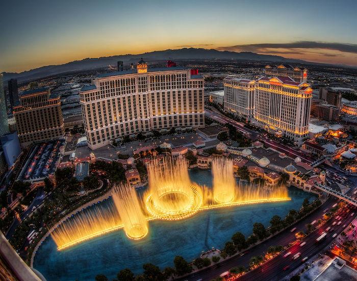Fuentes de Bellagio, Las Vegas, EEUU