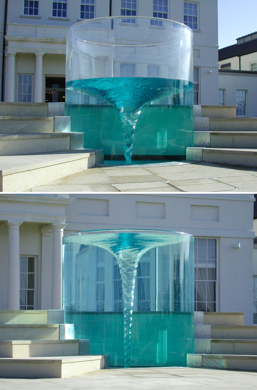Vortex Fountain 'Charybdis', Sunderland, UK
