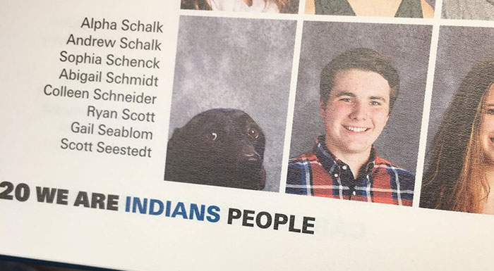 School Includes Teen's Dog In Yearbook, And That's No Accident