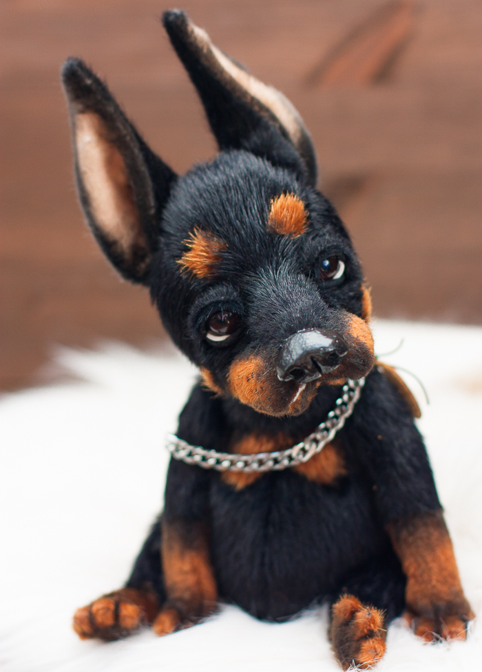 I Create Unique And Completely Handmade Ooak Dogs