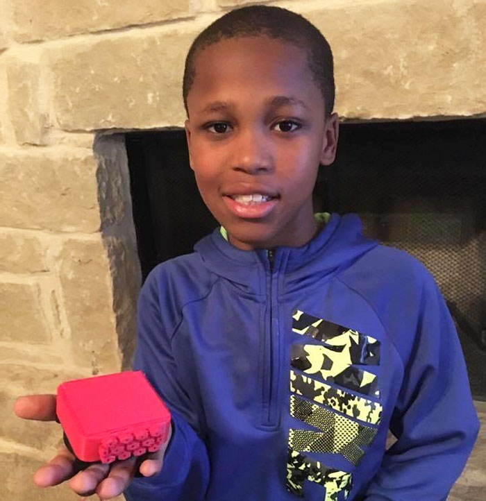 10-Year-Old Boy Invents A Genius Device To Stop Children Dying In Hot Cars After His Neighbor's Death