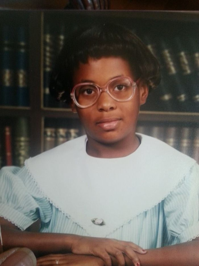 It Was The 80's!  All 8 Year Olds Dressed Like Librarians