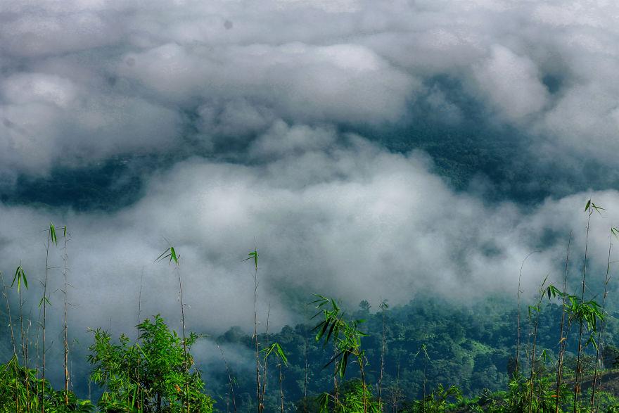 Where The Mountains And The Clouds Meet Together - Nilgiri, Bandarban, Bangladesh