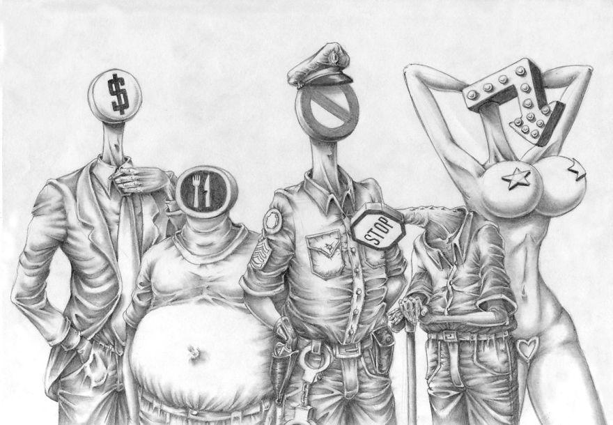 Satirical-drawings-al-margen-pagina