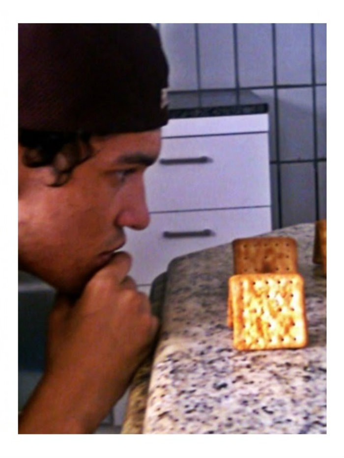 Thoughtful Pic Of Myself Looking At Crackers. I Thought The World Needed To See This.