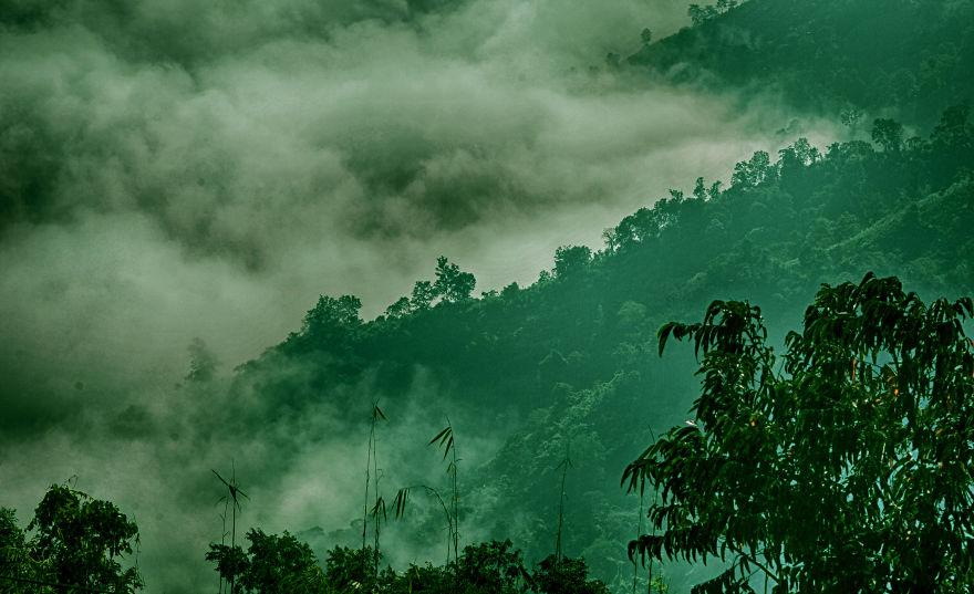 Where The Clouds Cover The Mountains - Nilgiri, Bandarban, Bangladesh