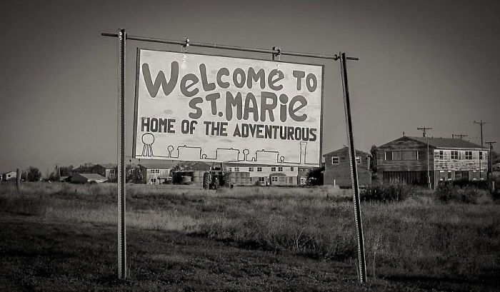 Cold War Abandoned Afb, Saint Marie Montana – Like A Set From The Walking Dead