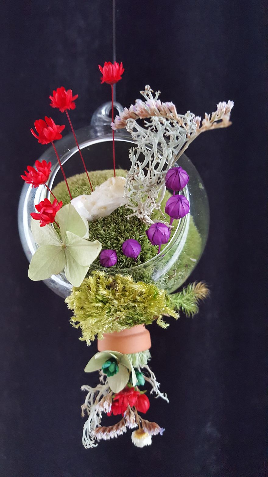 Upside Down Flower Pot
