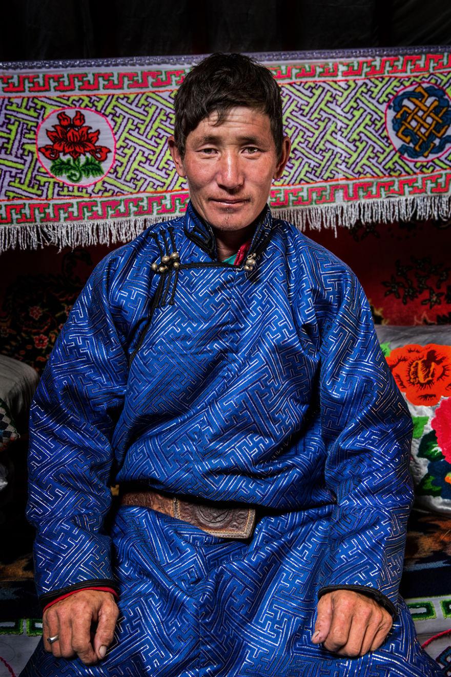 Tuvan Mongolian Man