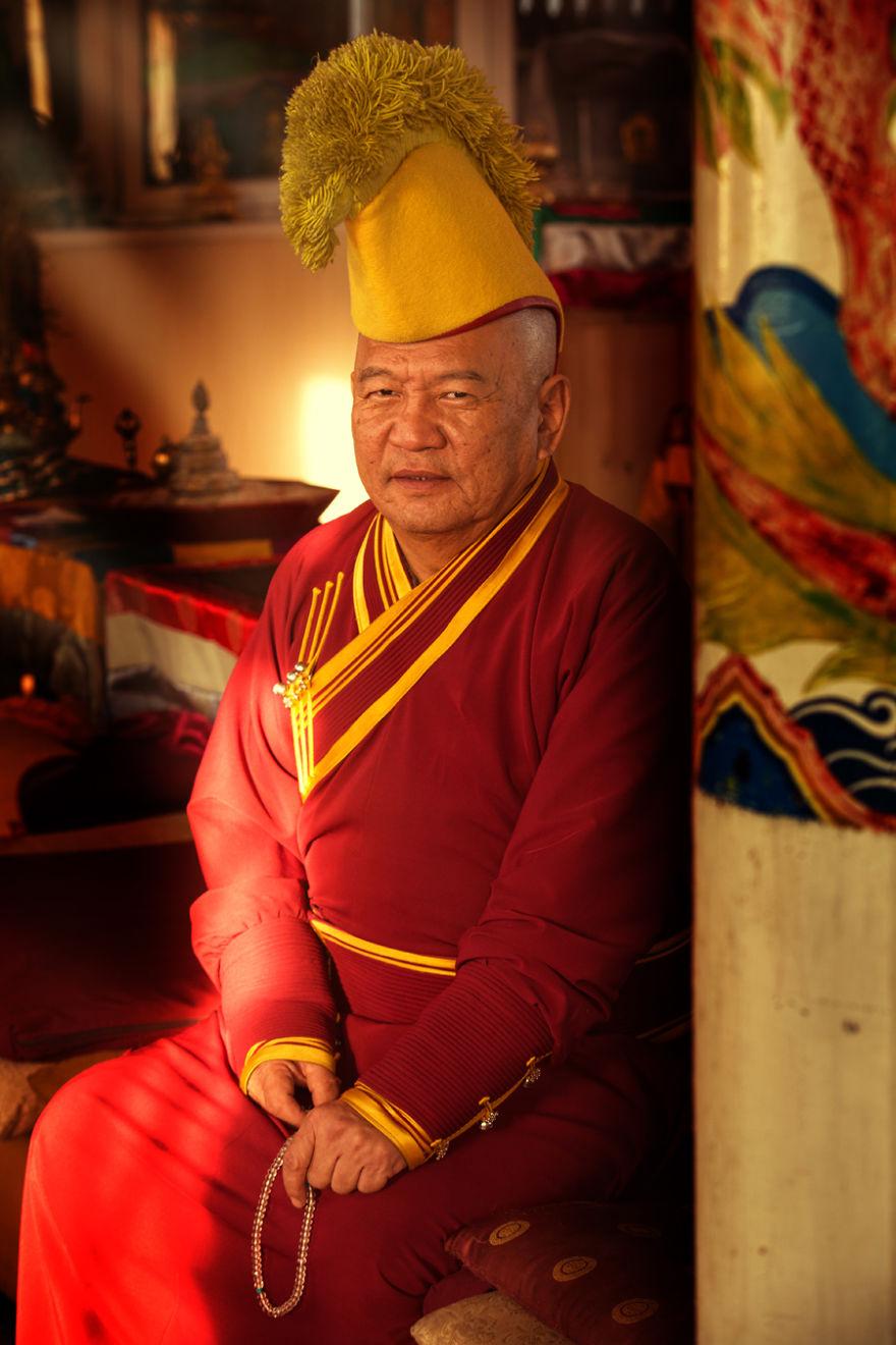 Buryat Gelugpa Monk