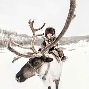 Evenki Little Reindeer Herder
