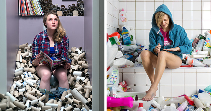 After 4 Years Of Not Throwing Away His Trash This Photographer Created A Powerful Photo Series