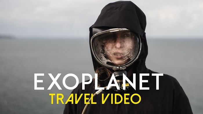 I Visited A New Planet And Made A Travel Video About It