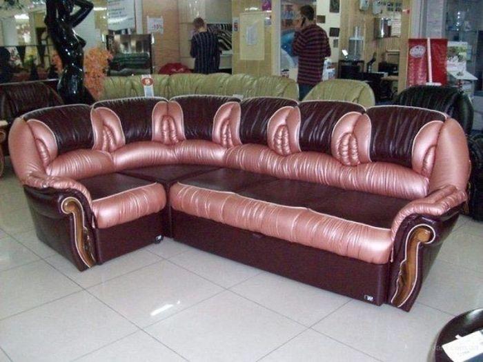 ¿El peor sofá del mundo?