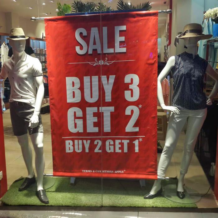Buy 3, Get 2